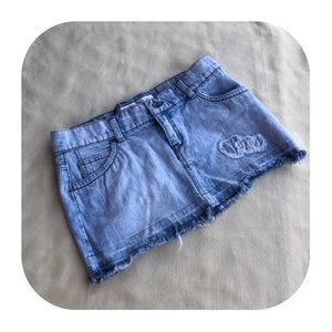 6/$15 Mossimo Demin size 5 skirt